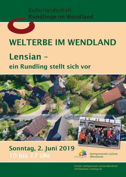 Plakat Rundlingstag Lensian